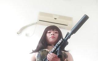 sissy  gun