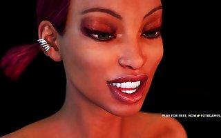 GROUP EBONY FUTA 3D SEX ASSAULT #1