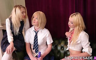 Schoolgirls at Slut Academy!